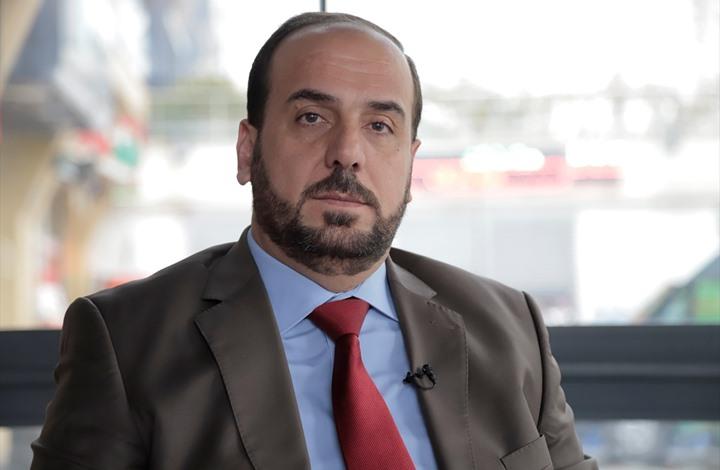 رئيس الائتلاف المعارض نصر الحريري