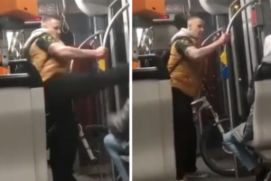 ألماني يهاجم شاب سوري في القطار