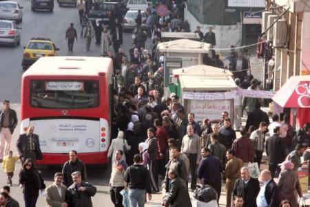 أزمة النقل في سورية