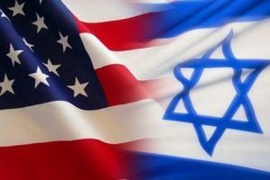 """علم أمريكا و """"إسرائيل"""""""