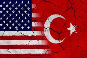علم أمريكا و تركيا