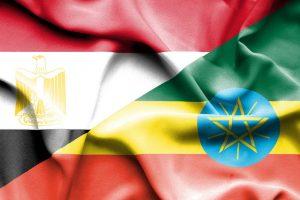علم مصر و إثيوبيا