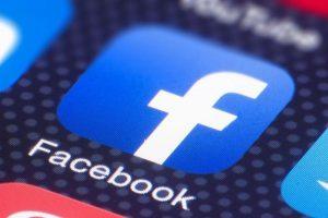 شعار تطبيق فيسبوك