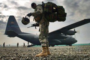 القوات الأمريكية في الخليج