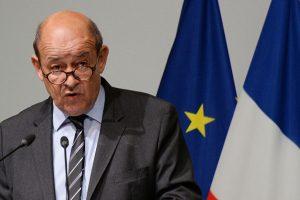 وزير خارجية فرنسا جان إف لودريان