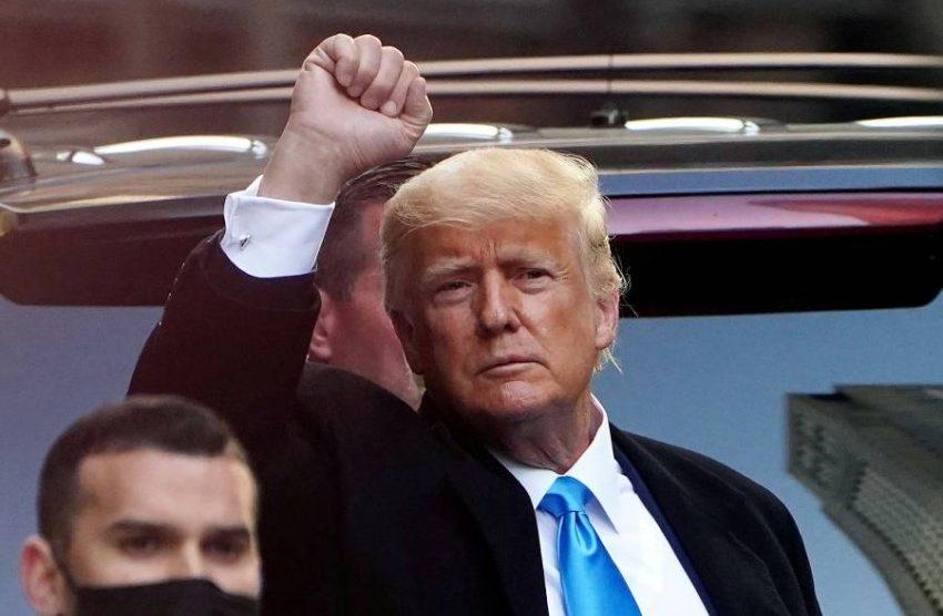 الرئيس الأسبق للولايات المتحدة دونالد ترامب