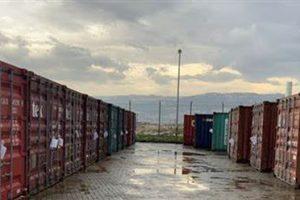 حاويات مواد خطرة في مرفأ بيروت