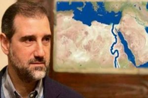 """Rami Makhlouf calls on Turkey to open the waters of the Euphrates, otherwise, """"Tens of thousands of innocent Turks will pay the price."""""""