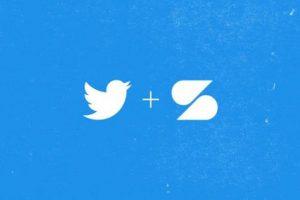 شعار تويتر و سكرول