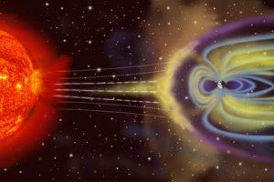 عاصفة جيومغناطيسية تتسبب بظهور أضواء الشفق القطبي
