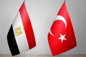 علم مصر وتركيا