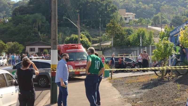 موقع حادثة الهجوم في البرازيل