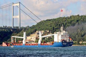 باخرة سورية معاقبة أمريكياً ترسو في ميناء تركي