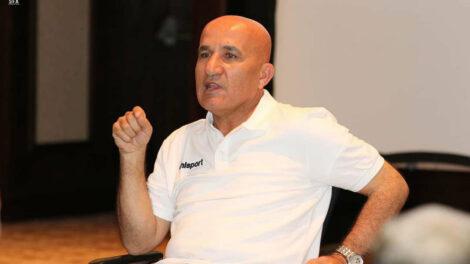 رئيس اتحاد كرة القدم حاتم الغايب
