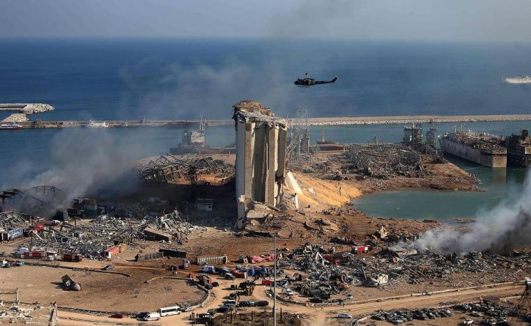 """قاضي التحقيق اللبناني يضع 3 فرضيات لانفجار """"مرفأ بيروت"""""""