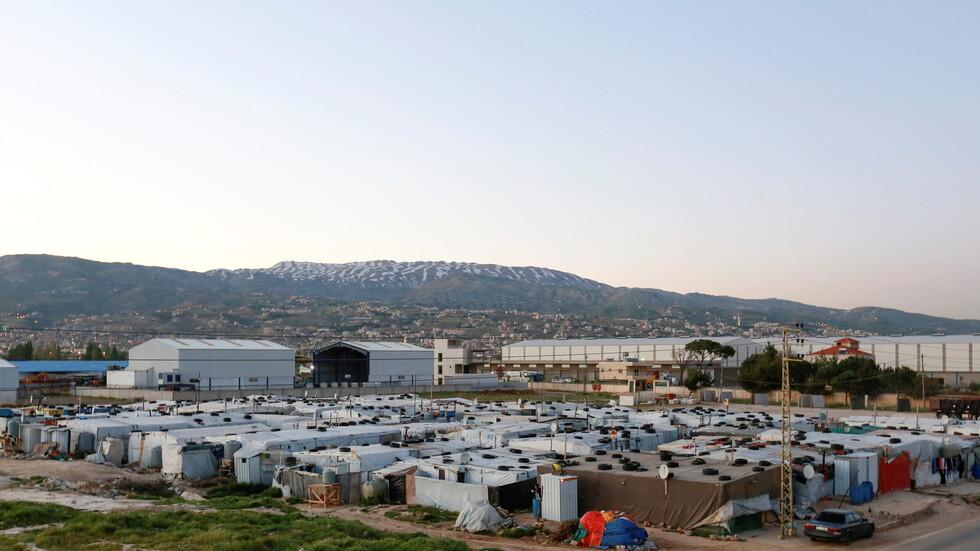 مخيم منطقة دواوير
