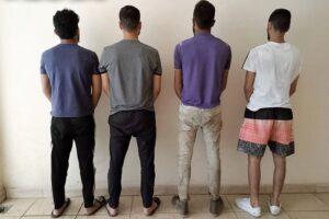 عصابة تصنيع وتجارة مخدرات في لبنان