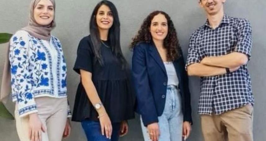 فريق هندسي فلسطيني