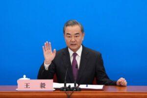 وزير الخارجية الصيني وانغ يية الصين