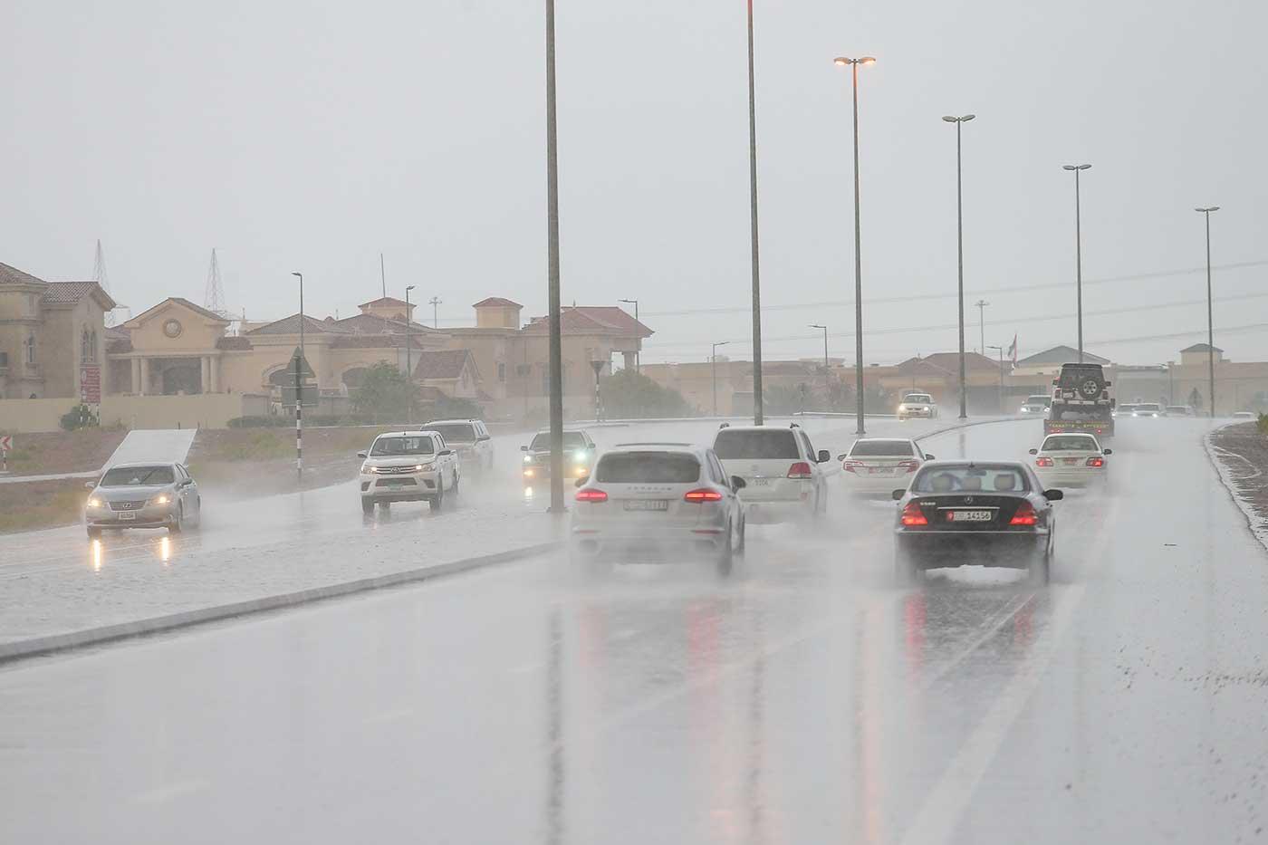 أمطار في الإمارات