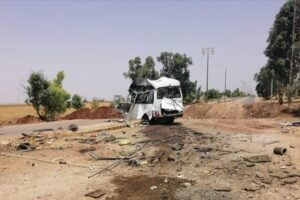 استهدلف حافلة عسكرية في ريف درعا