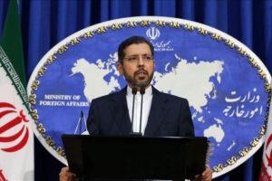 المتحدث باسم الخارجية الإيرانية سعيد خطيب زاده
