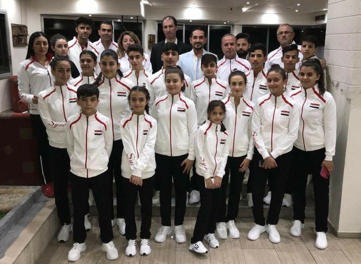 منتخب سورية لكرة الطاولة ناشئات