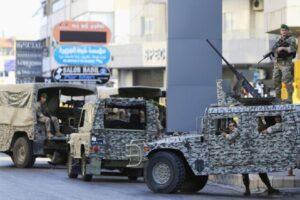 قوة من الجيش اللبناني