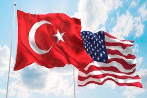 علم تركيا وأمريكا