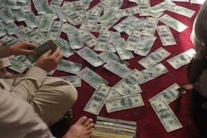 """الأموال التي عثرت عليها """" طالبان"""" في منزل أمر الله صالح"""